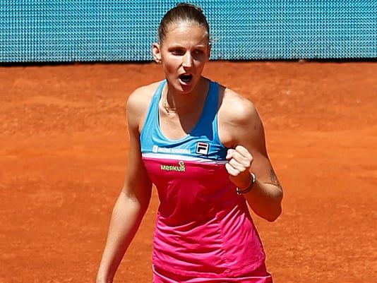 AP SPAIN TENNIS MADRID OPEN S TEN ESP