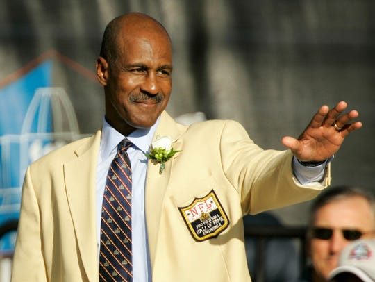 Former Washington Redskins receiver Art Monk was inducted