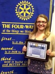 New Oxford-Conewago Valley Rotary Club students of