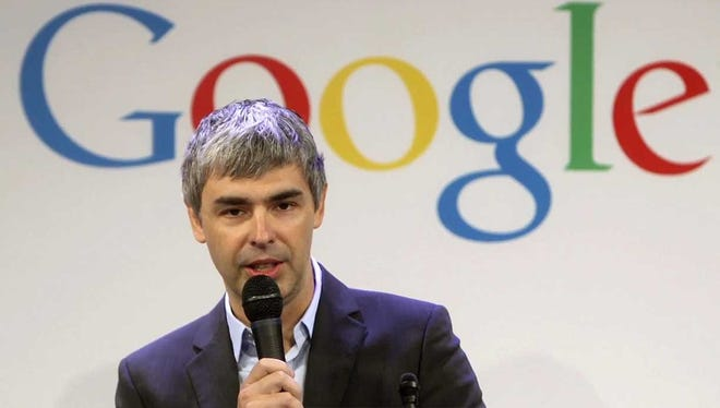 Google CEO Larry Page.
