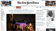 "The website of ""The New York Times"" on Dec. 6."