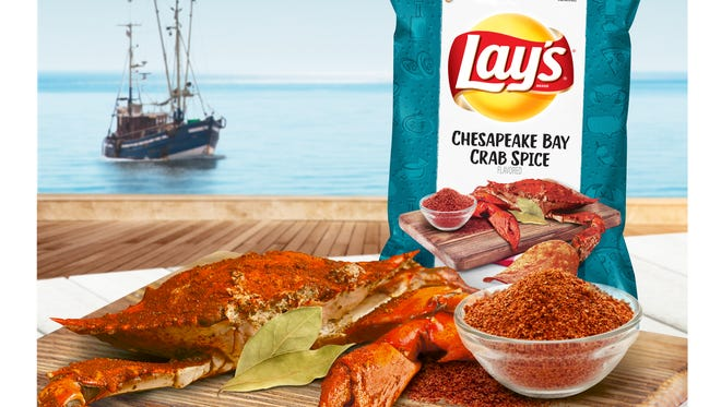 Lay's Crab Spice flavor. Picture courtesy of Frito Lay.