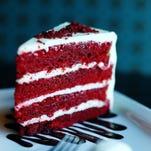 Red velvet cake by Chef Gregg McCarthy.
