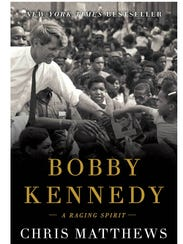"Book cover, ""Bobby Kennedy: A Raging Spirit"" by author"