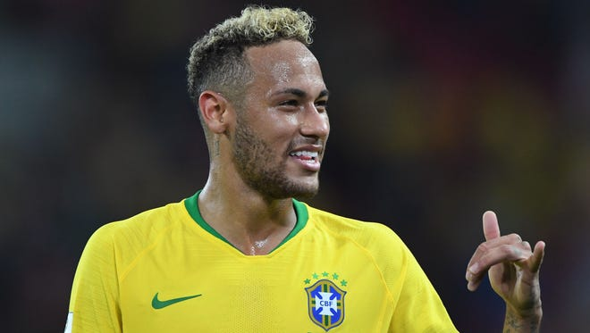 Neymar scored once in the group stage.