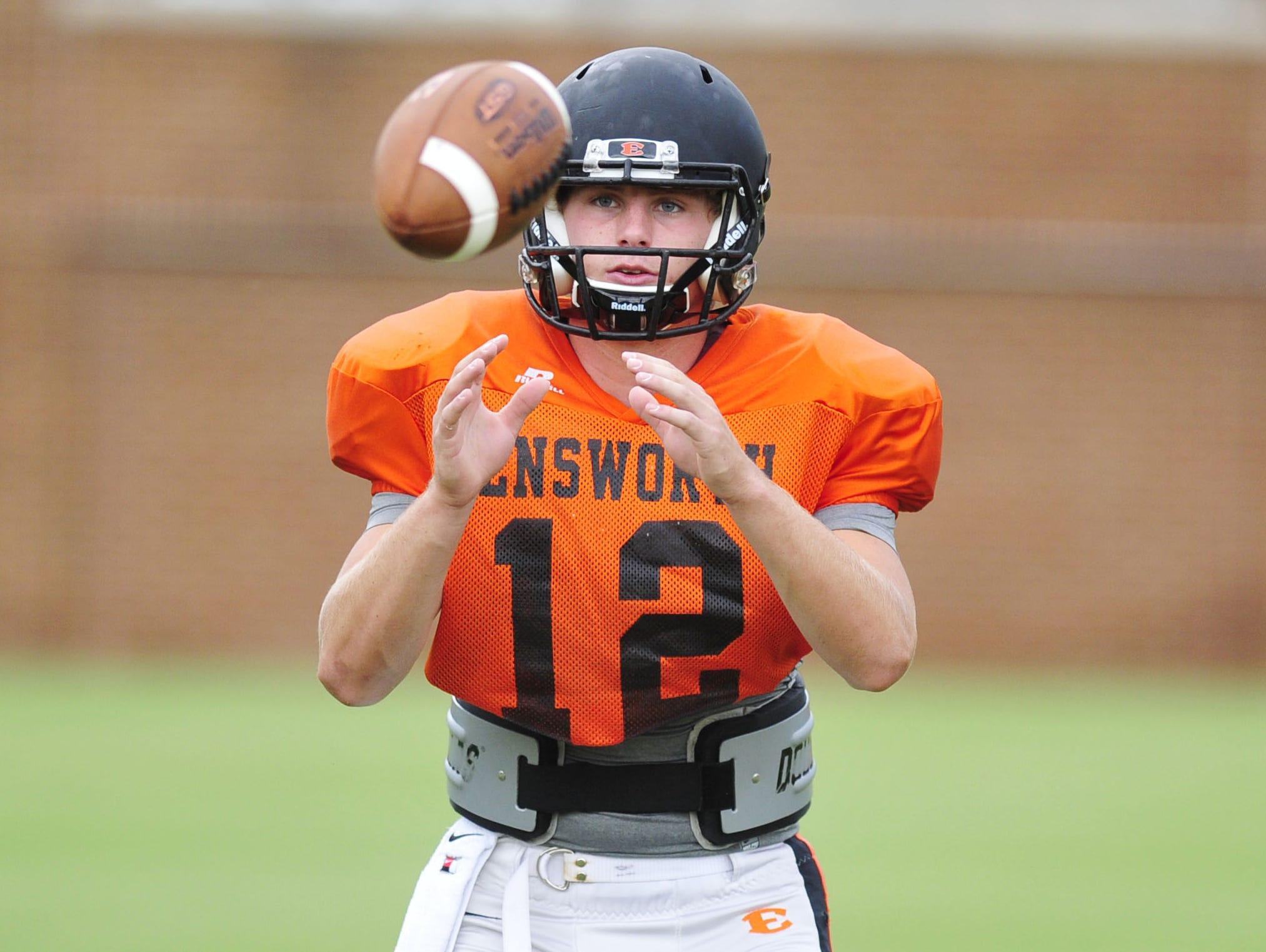 Ensworth quarterback Coleman Goodwin.