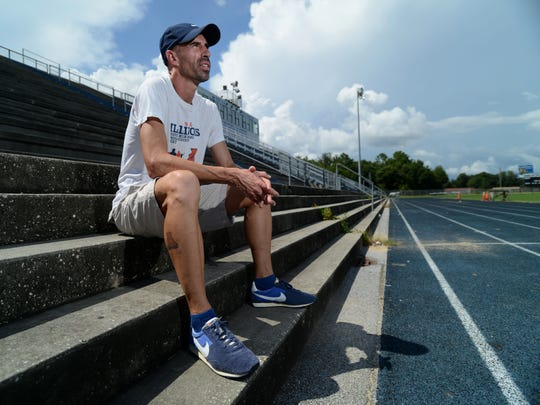 Everett Whiteside, shown in this 2013 photo before he departed as Booker T. Washington cross country coach, is coming back to Pensacola to replace Jeff Oliver at West Florida High.
