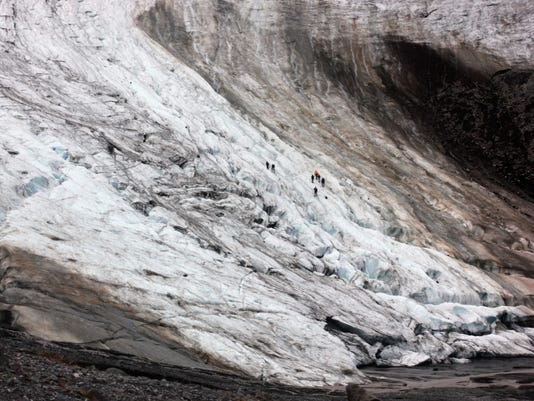 APTOPIX Shrinking Glaciers