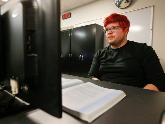 Juan Ruiz, a student at Ozarks Technical Community