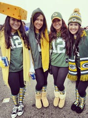 From left, Jessica Waring and her sisters Stephanie,