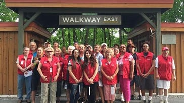 Walkway Ambassadors are volunteers who enhance visitors' experiences at the Walkway Over the Hudson.