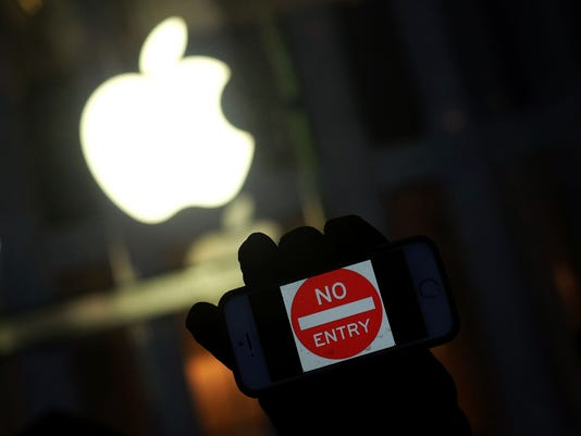 Apple_protest_logo