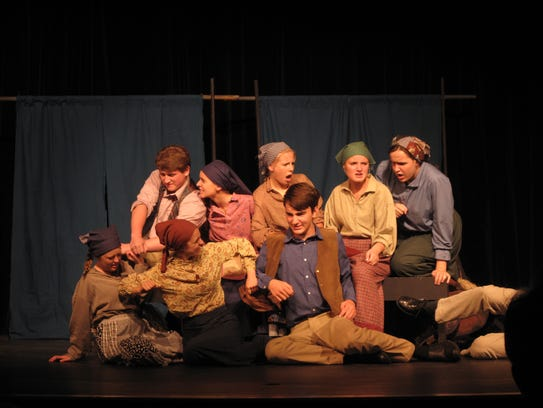 Plymouth High School competed in a regional one-act