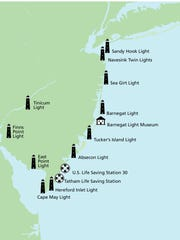 Lighthouse map