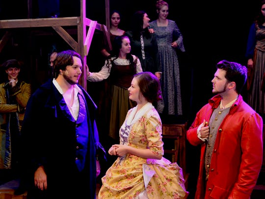"A tale of two families during the French Revolution in Paris and London, ""A Tale of Two Cities: the Musical"" returns to the Wichita Theatre at 7:30 p.m. tonight and Saturday and runs Thursdays, Fridays and Saturdays through Aug. 25."