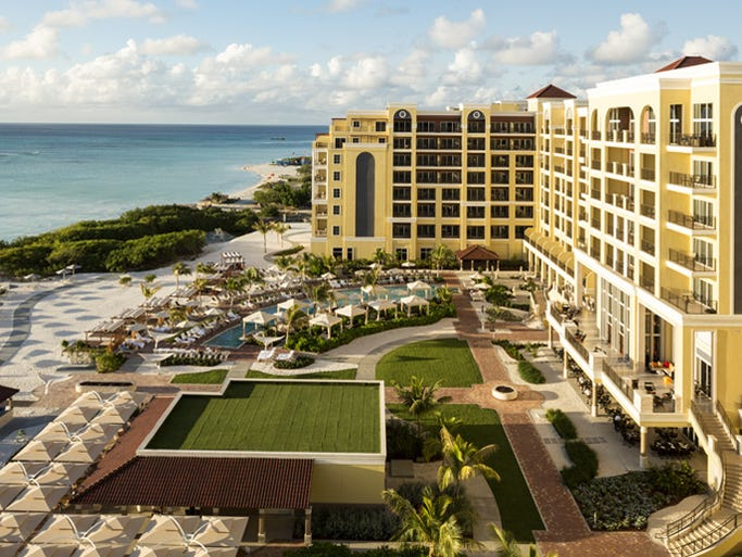 Brand new on Palm Beach, The Ritz-Carlton is the first and only five-star lodging on the island.