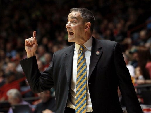 Scott Nagy coached SDSU for 21 years before taking a job at Wright State.