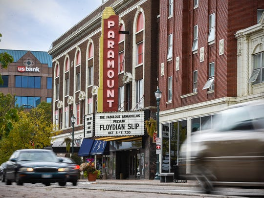 The Paramount Theatre shown Thursday, Oct. 5, in downtown St. Cloud.