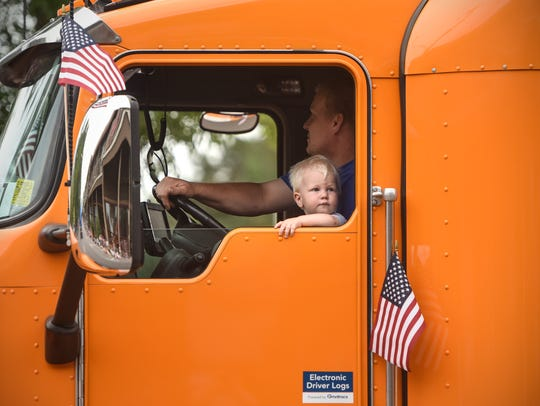 A Brenny Transportation Company truck was part of the St. Joseph Lions 2018 Fourth of July Parade. Brenny Specialized was one of four 2018 Innovation Awards recipients.