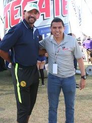 El ex portero del América, Adrián Chávez y el zaguero