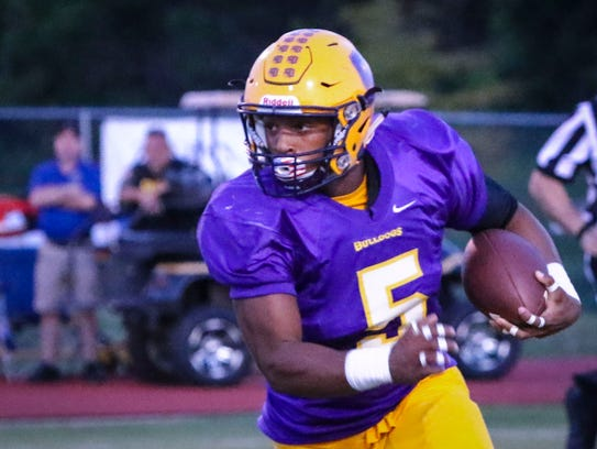 Smyrna's Casey Perkins committed to Old Dominion Tuesday.