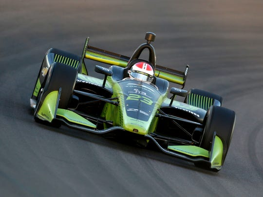 Charlie Kimball competes in the Grand Prix of Phoenix