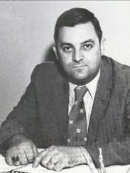 A photo of Norman Conway from the early days.