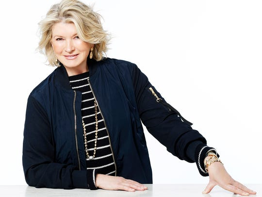 Food and lifestyle icon Martha Stewart is expected