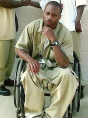 Will Thomas was paralyzed by one of five bullets shot into him in December 2005.