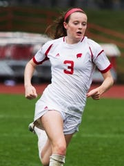 Rose Lavelle, shown playing for Wisconsin, has been