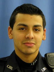 Officer Pedro Abad Jr., the driver, was critically injured.
