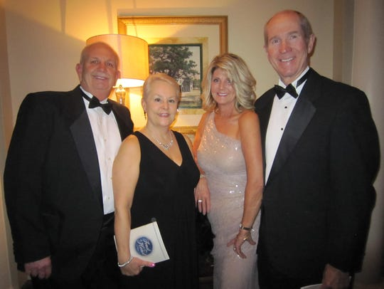 Terry and Lisa Taylor, Jeri and Bob Lamb