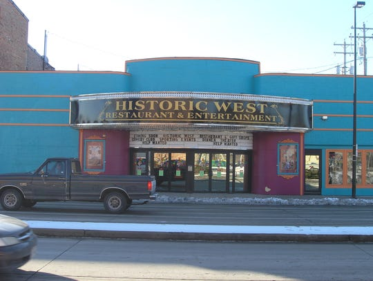 Historic West Theatre, 509 W. Walnut St., will be auctioned