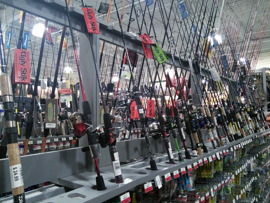 There's no shortage of fishing gear available for your