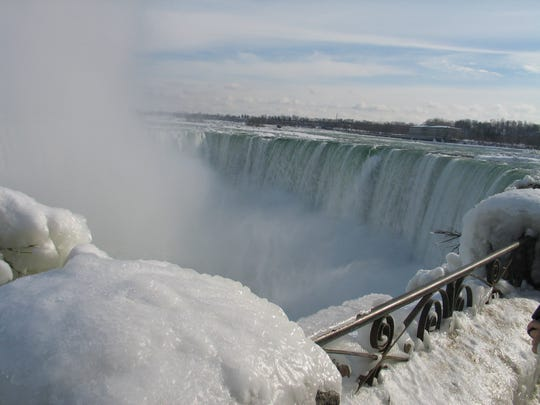 Niagara On the Lake is a romantic spot to stay, a short jaunt away from spectacular Niagara Falls, and its winter charms.