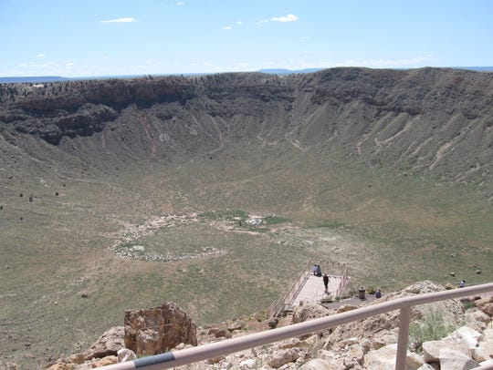 The asteroid that formed Meteor Crater was traveling