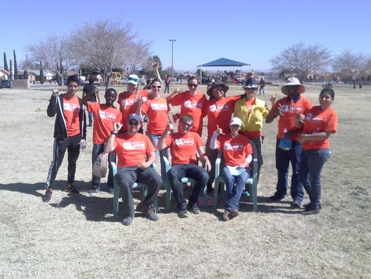 Members of the UTEP chapter of the American Association