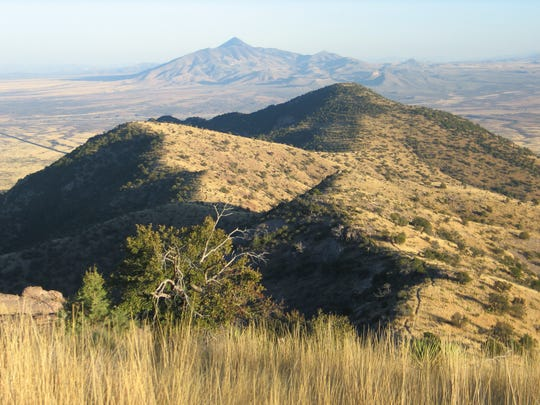 The view from Coronado Peak, Coronado National Memorial.