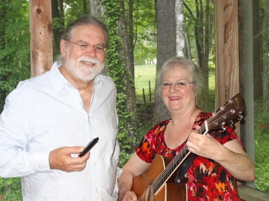 Mimi Hearns and Mike Palecki play at Southwood Golf Club Friday.
