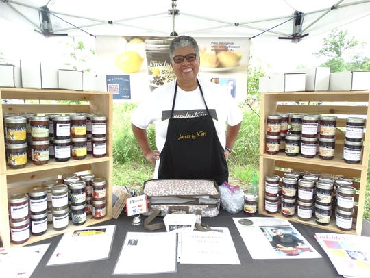 Jams by Kim owner Kim Osterhoudt offers nearly 40 sweet