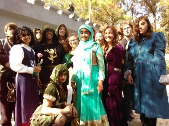 OHS students participated in Student Days at the Louisiana Renaissance Festival Nov. 15.