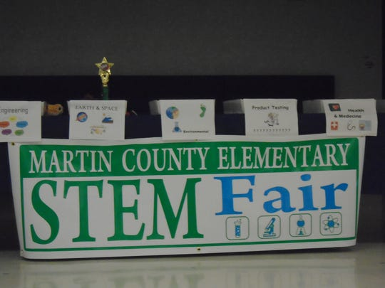 The Martin County Elementary STEM Fair awards ceremony was held at J.D. Parker Elementary School.