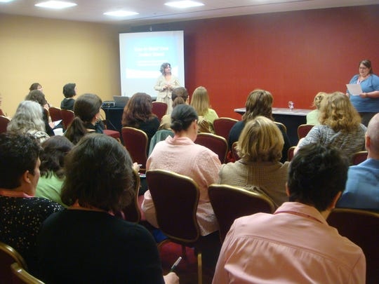 Workshops for aspiring authors on the subject of writing