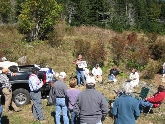 Wendell Begley shares some of the Old Toll Road's history