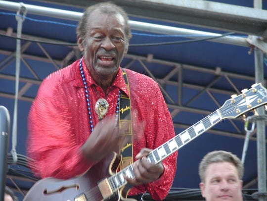 Enjoy a salute to the late great Chuck Berry at Union