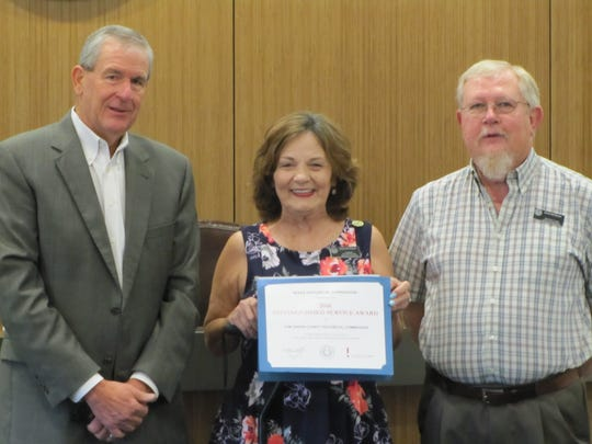 The Texas Historical Commission presented the TGC Historical