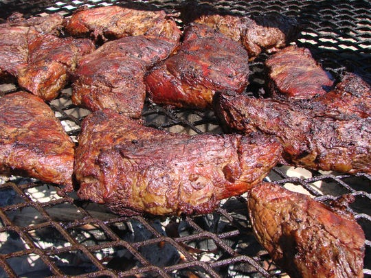 Tri-tip, the classic Santa Maria barbecue cut, will be offered with two sides on the new patio at the 2017 Barracuda golf tournament.