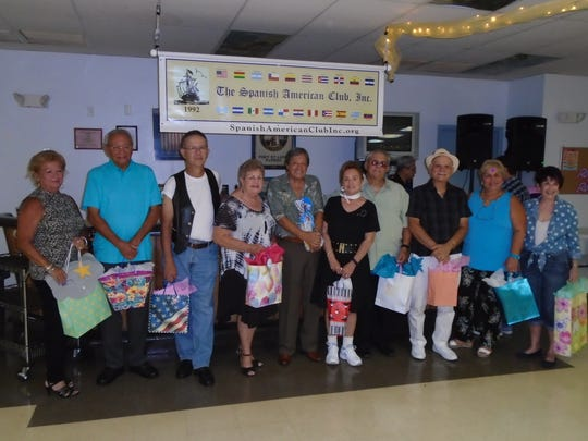 Oldies but Goodies door prize winners were  Vivian
