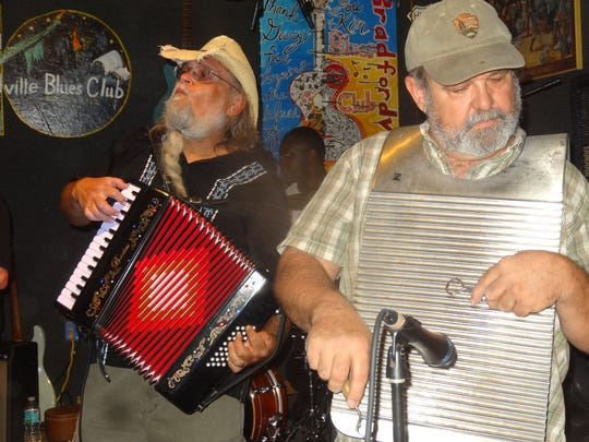 JB's Zydeco Zoo gets the Mardi Gras party going Friday at Bradfordvilles Blues Club.