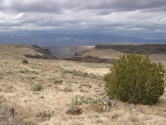 The Agua Fria National Monument climbs onto Sycamore